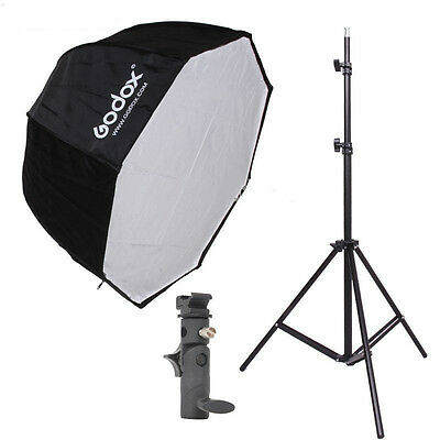 Godox 80cm Octagon Umbrella Reflector Softbox and Photography Light Stand suit