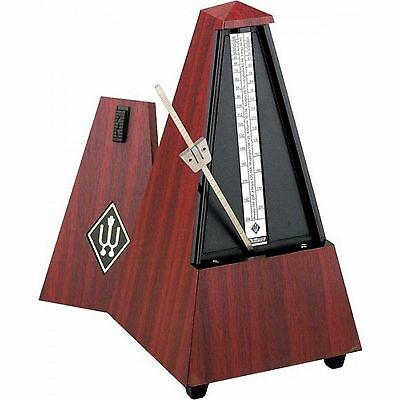 Wittner Metronome Plastic casing mahogany grain, without bell 845111