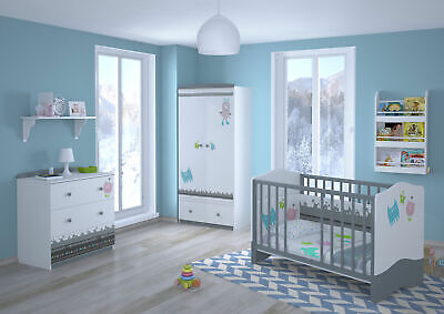 Polini Kids Kinderzimmer Set L Basic Modell Monsters