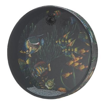 Remo Ocean Drum - Fish Graphic, 12""