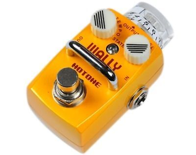 Hotone WALLY Single Footswitch Simple Looper Pedal with Speed Adjustment SLP-1