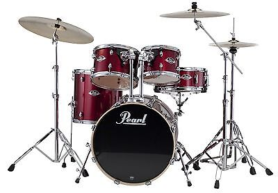 Pearl Export 5 Piece Drum Kit Shell Pack EXX725FPC91 Red Wine