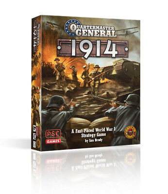 Quartermaster General: 1914 - A Fast Paced WWI Stragtegy Game