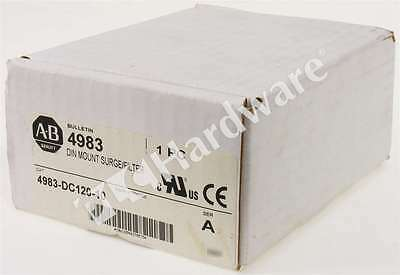 New Allen Bradley 4983-DC120-10 /A Filter and Surge Protective Device 120V 10A