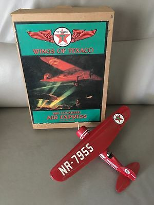 Wings Of Texaco 1929 Lockheed Air Express 1St In The Series Coin Bank Nr-7955