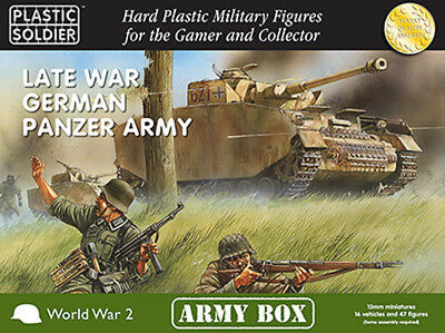 15mm Easy Assembly: Late War German Panzer Army Box