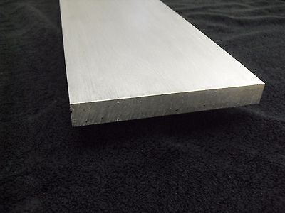 "1/4"" Aluminum 8"" x 18"" Bar Sheet Plate 6061-T6 Mill Finish"