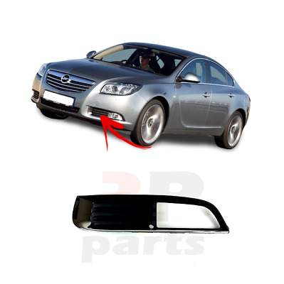 New Vauxhall Opel Insignia Fog Light Grille With Chrome Left N/s 2009 - 2014