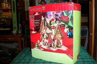 Dept 56 Christmasland Tree Toppers #56960  North Pole Village / Retired Mib