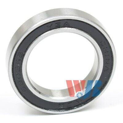 Stainless Steel Radial Ball Bearing SR16-2RS 2 Rubber Seals 25.4x50.8x12.7mm