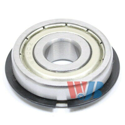 Ball Bearing Wjb 6200-Zznr With 2 Metal Shields & Snap Ring