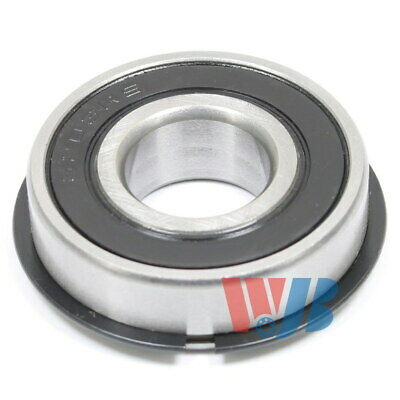 Radial Ball Bearing 6203-2RSNR With 2 Rubber Seals & Retaining Ring 17x40x12mm