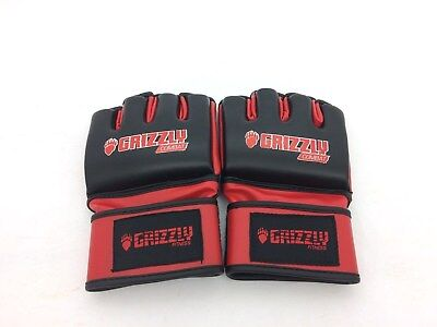 """Grizzly Combat/Mixed Martial Arts Gloves """"The Grappler"""" Size Large"""