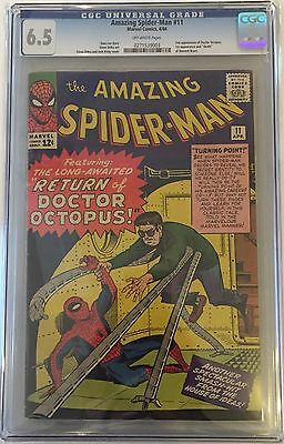 Amazing Spider-Man (1963 1st Series) #11 CGC 6.5