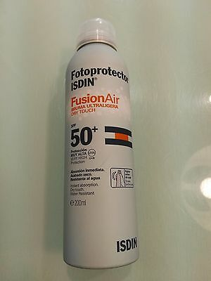 Isdin Fotoprotector Spf 50+ Fusion Air 200 Ml