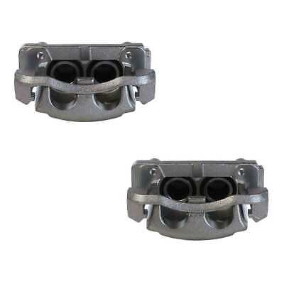 New Pair of Front Brake Calipers Set fits 05-08 Ford F-150 06-08 Lincoln Mark LT