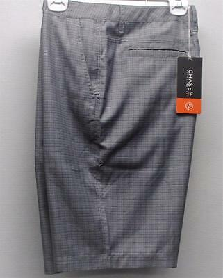 New with tags Mens Size 36 CHASE 54 DRYFUZE  Platinum polyester golf shorts