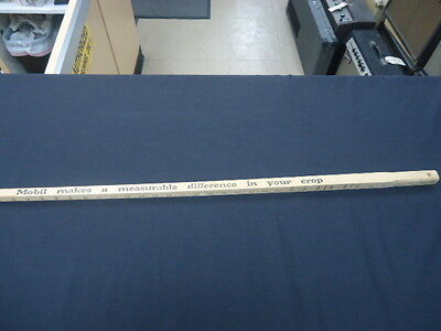 "VINTAGE YARDSTICK MOBIL MAKES A MEASUREABLE DIFFERENCE IN YOUR CROPS 36""x.75"""
