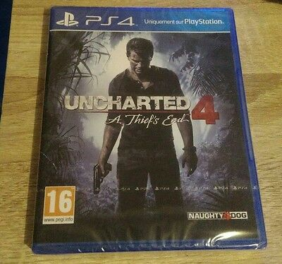 uncharted 4 a thief's end ps4 neuf