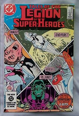 Tales Of The Legion Of Super Heroes #316 1984  A916