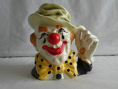 "Royal Doulton ""The Clown"" ~ D6834 ~ Large Character Jug ~ Excellent Condition"
