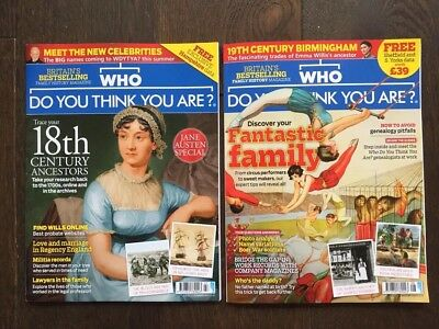 Who Do You Think You Are Magazine 128 129