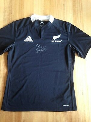 All Blacks Jersey Signed By Jerome Kaino