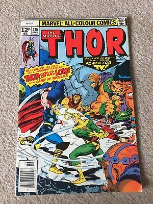 Mighty Thor #275 Marvel Comic