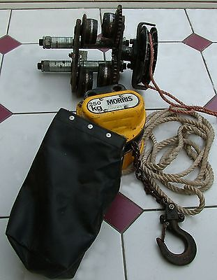 Chain Hoist, 250KG and carriage