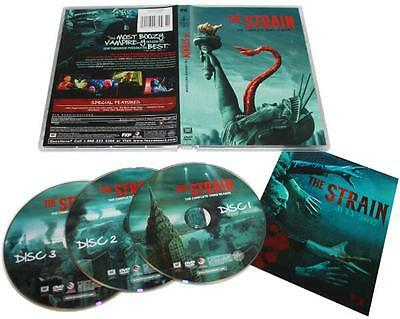 The Strain: Season 3 (DVD, 2017, 3-Disc Set)  New & Sealed FREE Shipping!