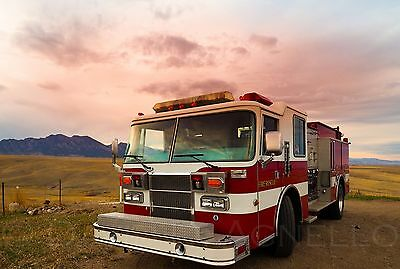 1995 Pierce Dash Pumper Firetruck - Detroit 6V92TA 400 HP Turbo Diesel Engine