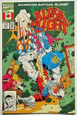 Alpha Flight #113 (Oct. 92') NM- (9.2) vs Mauler/ Brasfield & F. Turner Art