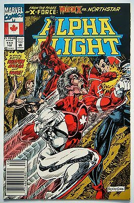 Alpha Flight #117 (Feb. 93') NM- (9.2) Weapon Omega vs Wyre/ Weapon X App.
