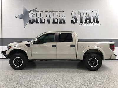 2013 Ford F-150 SVT Raptor Crew Cab Pickup 4-Door 2013 F150 Raptor 4WD CrewCab 6.2L-V8 Loaded Xnice Leather/GPS/AllPower/TXowner