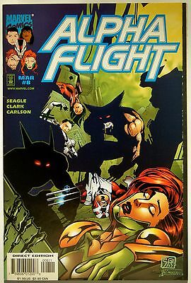 Alpha Flight Vol. 2 #8 (Mar. 98') VF+ NM- (9.0) Weapon X Files