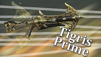 Warframe Tigris Prime Set Ps4 Same Day Trade 15 00 Picclick It was released alongside nekros prime and galatine prime. picclick