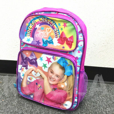 "16"" Jojo Siwa Backpack Dream Crazy Big"