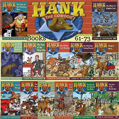Hank the Cowdog Set 61-72 Return of the Charlie Monsters....John R Erickson