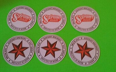 Beer coasters, 6 Six Point ( Group 6 W)