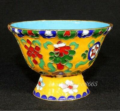 Collection Chinese Cloisonne Tibetan Buddhist bowl