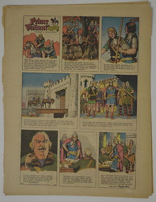 PRINCE VALIANT Full Color SUNDAY PAGE King Features Hal Foster 8/20/1967, #1593