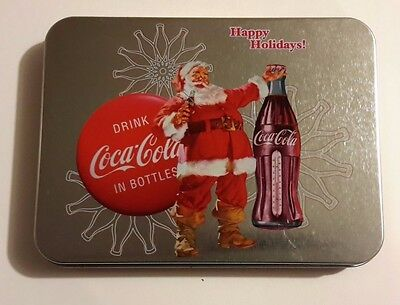 Limited Edition Coca-Cola Keepsake Tin & Playing Cards
