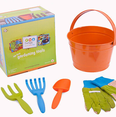 NEW Twigz My First Gardening Tools Gift Box