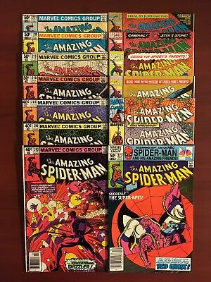 The Amazing Spider-Man #203 (Apr 1980, Marvel) - 384, 15 Book High Grade Lot