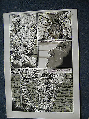 Tim Joe Vigil Original Art Dog page 13 Faust