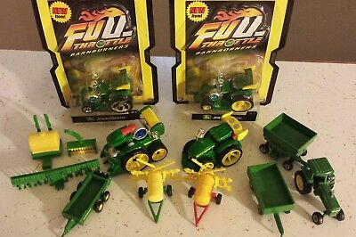 John Deere lot new and old