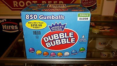 850 Count 25 Cent Fresh Gumballs Full Case Shipped To You