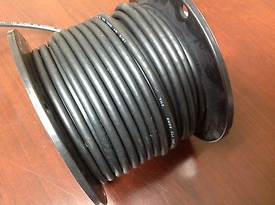 100' Belden Wire Portable Cordage 18/3 AWG, Black Flexible Stranded UL ISO 9001