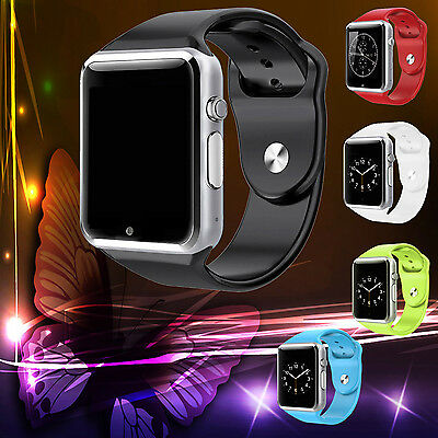 Smart Wrist Watch Bluetooth Waterproof GSM Phone Mate For Android Samsung iPhone