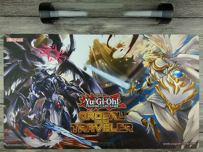 Darklord ORDEAL OF A TRAVELER YuGiOh Custom Playmat Free High Quality Tube【New】